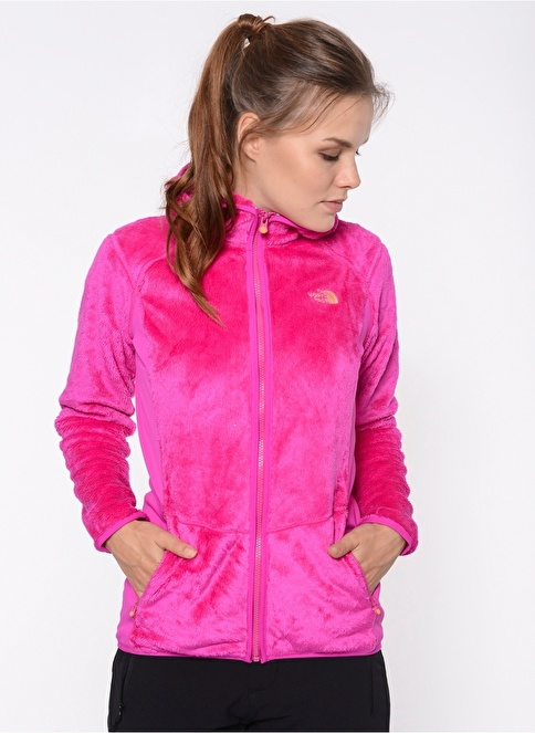The North Face Polar Sweatshirt Pembe